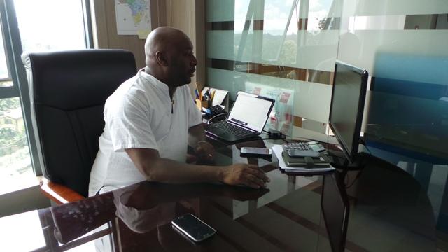 Robert Ngeru, COO Samsung Electronics East Africa