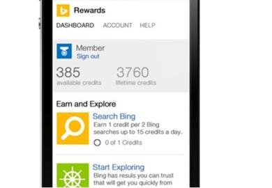 Bing Rewards Mobile Windows Phone