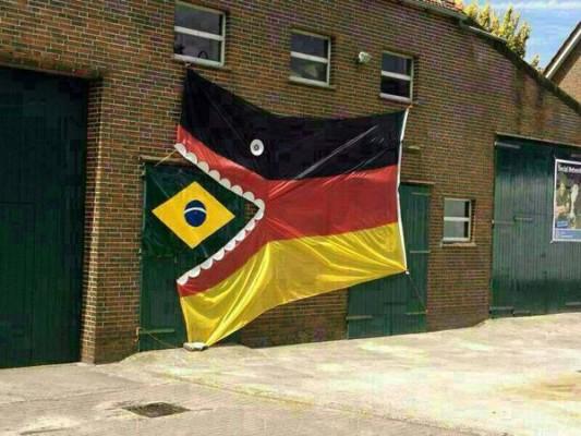 germany flag brazil