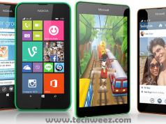 Lumia 530 vs Lumia 535