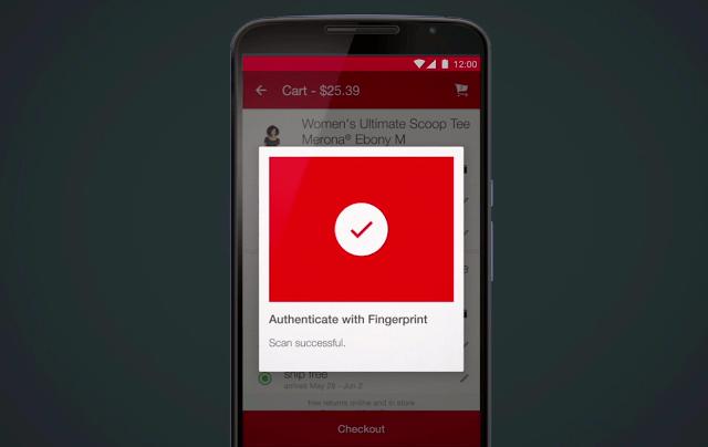 Android M fingerprint scanner
