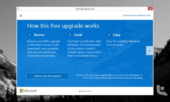 Get Windows 10 App