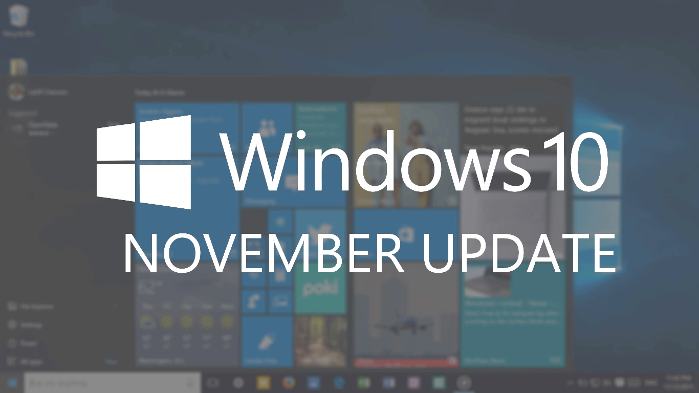 How To Force The Windows 10 November Update Onto Your Pc