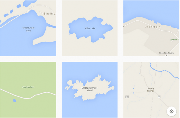 places with sad names on Instagram