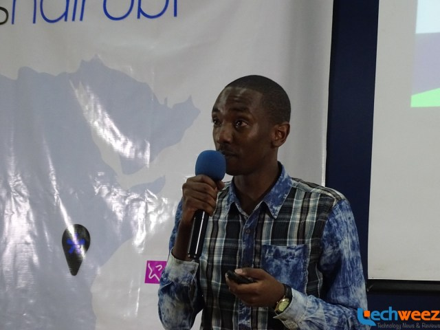 Very charismatic CEO, Lipa Card, Victor Mutua