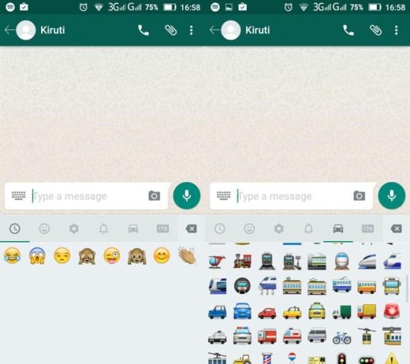 older version of WhatsApp