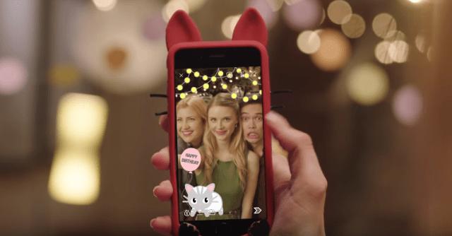 Snapchat custom geofilters
