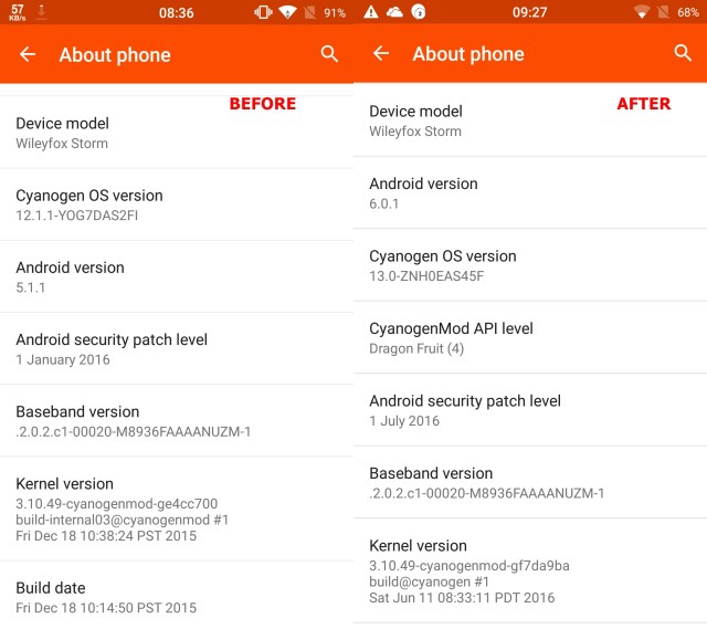 The Wileyfox Storm just recently received its Marshmallow update. If only this happened to every budget smartphone!