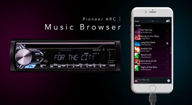 arc music browser