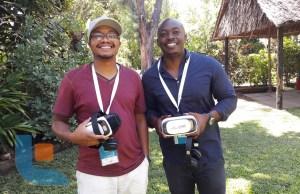 Brian Afande and Mike Ilako of BlackRhino VR