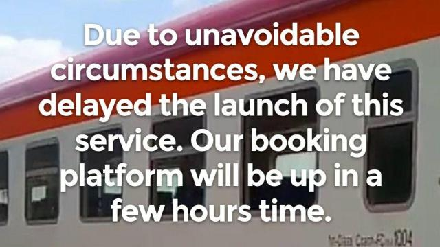 SGR Online Platform delay