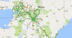 Safaricom 2G/3G/4G signal strength in Kenya