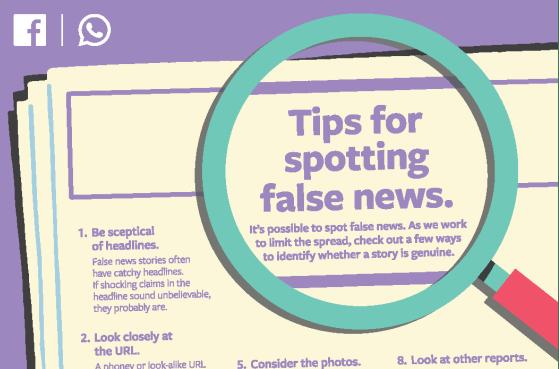 facebook spotting fake news kenya