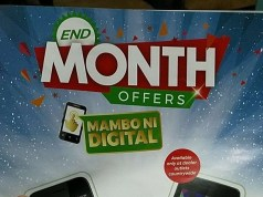 Safaricom end month offers