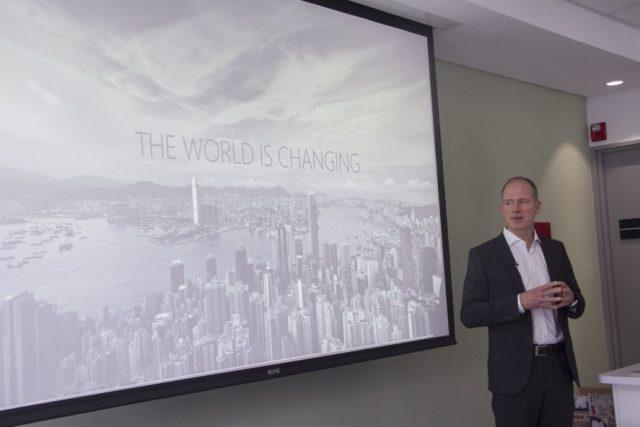 Microsoft's Head of Cloud Technology Mr. Ruediger Dornharles