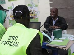 IEBC Official
