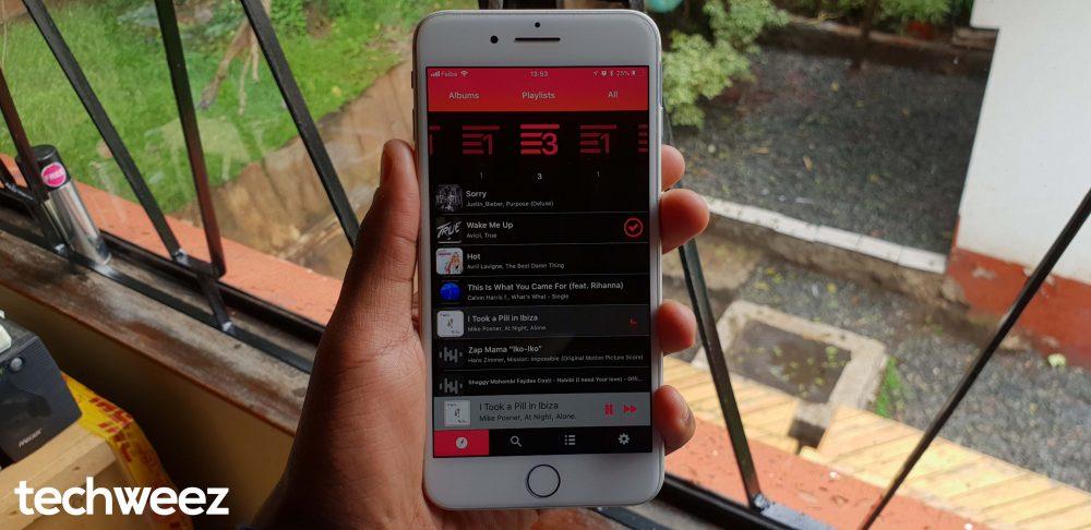 Songa iOS UI