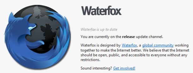 waterfox browser featured image