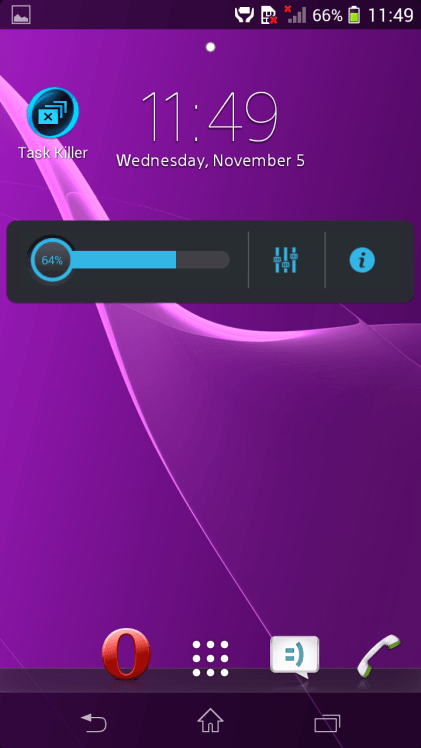 small widget