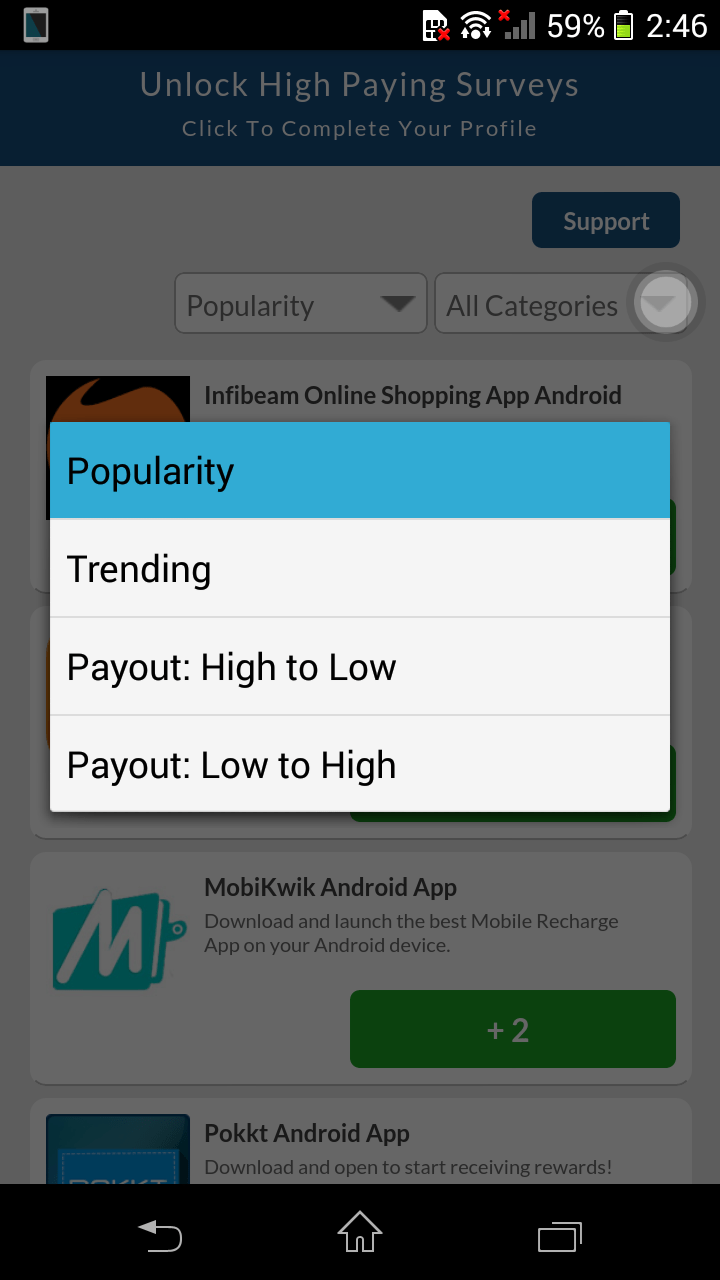 Prime Cash Android App Helps You To Earn Hard Cash With PayPal