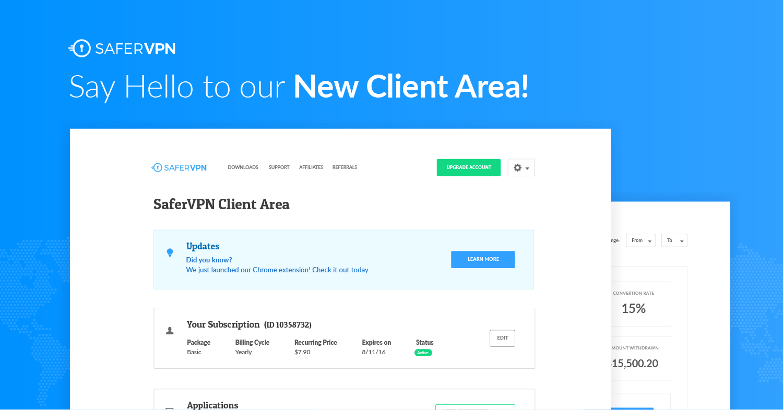 client area
