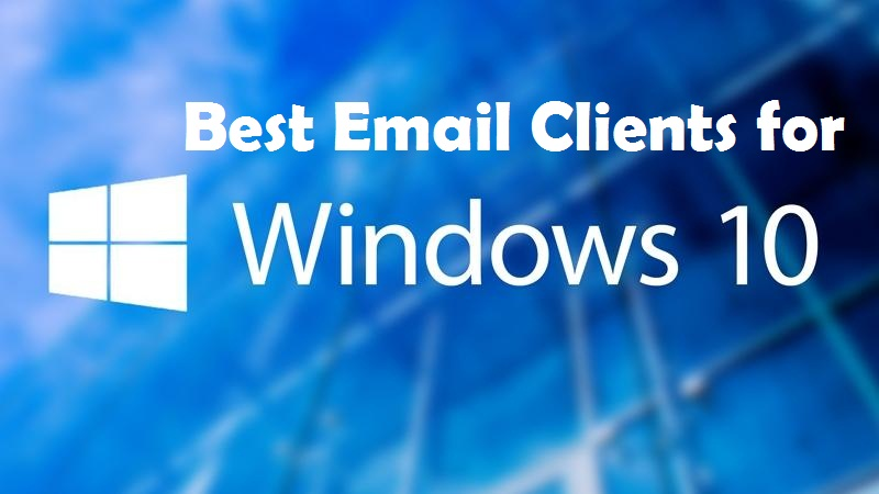 windows 10 electronic mail software