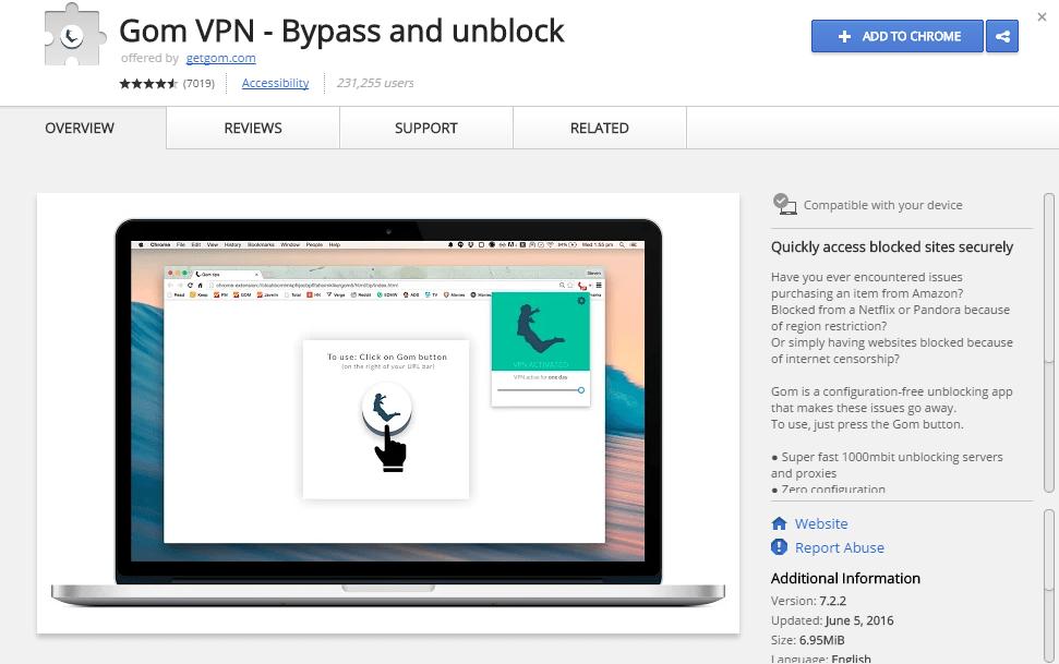 Best 5 Free VPN Extension For Google Chrome Running In Windows 10