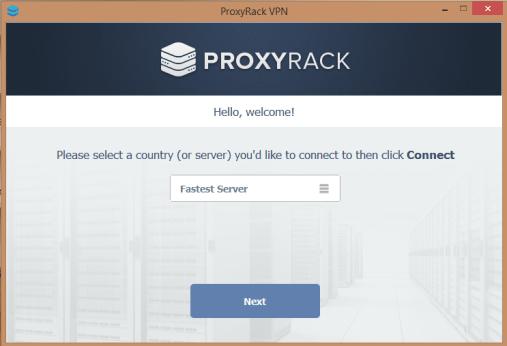 proxyrack client for windows 10