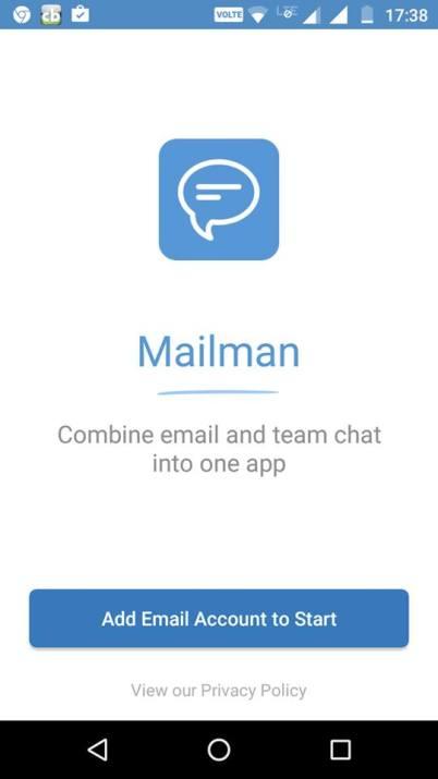 postman startup