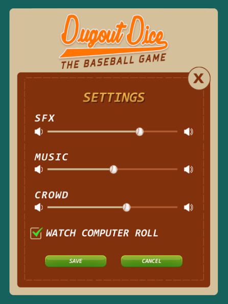 team options