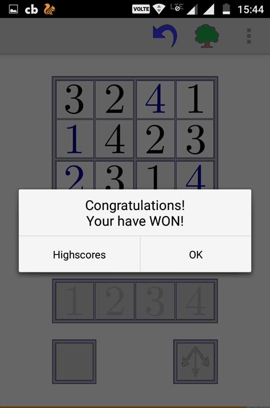 we won game