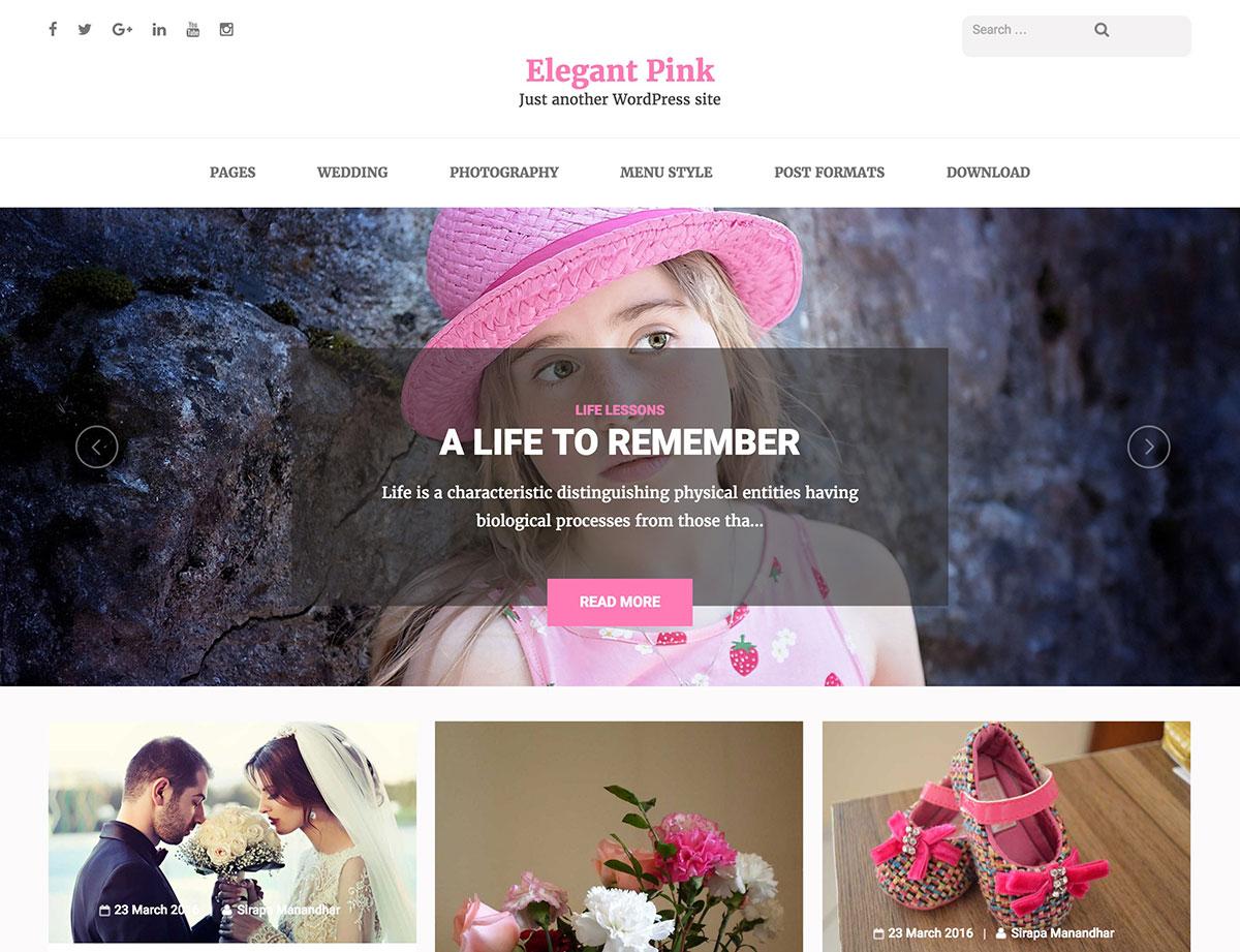 elegant-pink-feminine-wordpress-theme