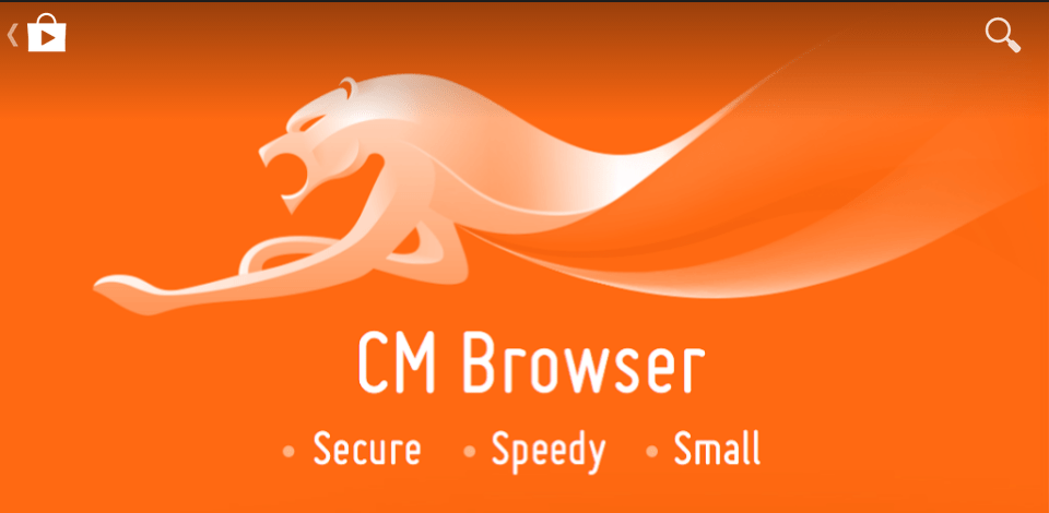 Image result for CM Browser logo