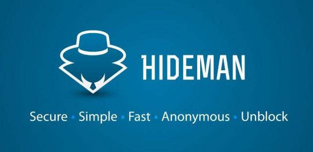 Image result for Hideman VPN logo