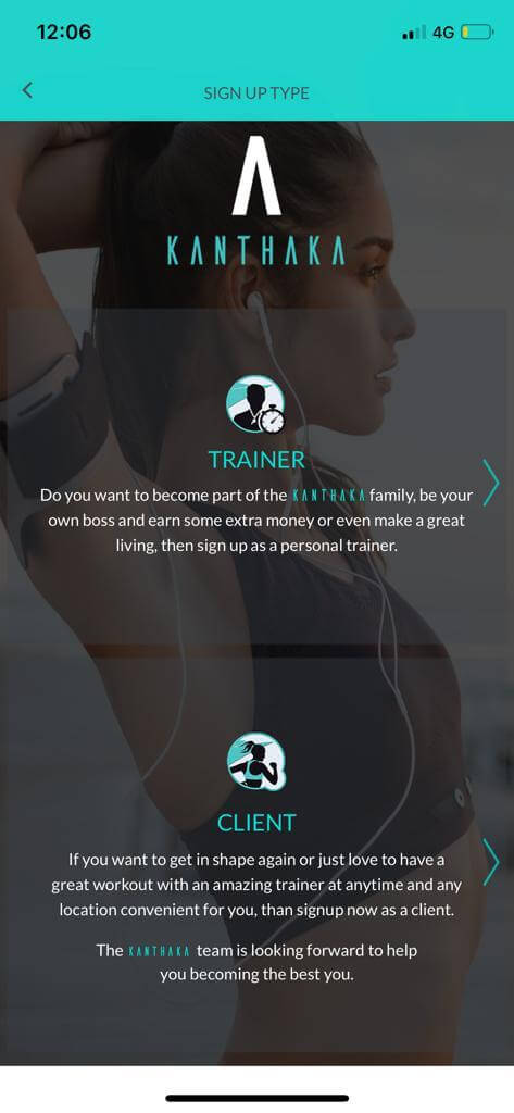 Best Ios App To Hire On Demand Certified Personal Trainers Kanthaka