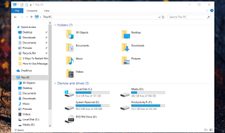 windows 10 file explorer