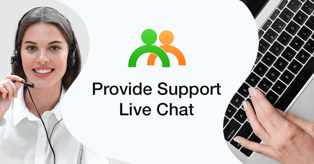 Image result for provide Support live chat