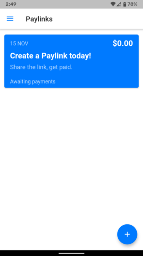 Paylinks Dashboard