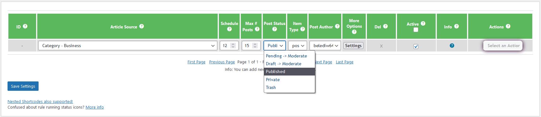 Add custom news posts - 6