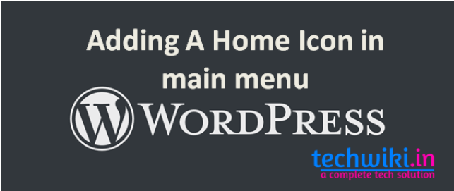 How To add icons to menu wordpress