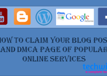 claim your blog posts