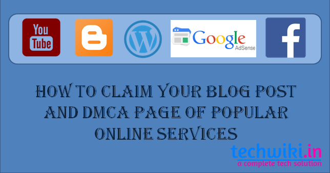 claim your blog posts