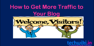 get more visitors to your blog