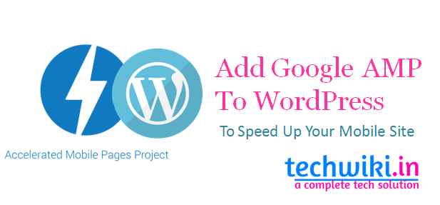 Add Google AMP To wordpress