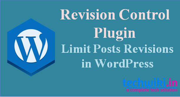 wordpress revision control plugin