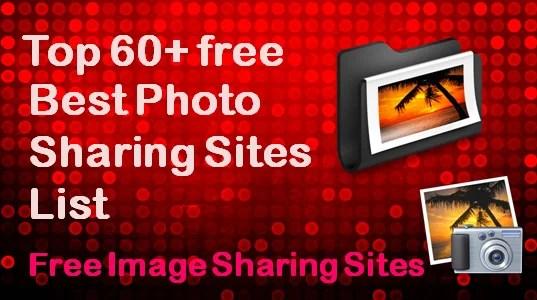 Photo Sharing Sites List