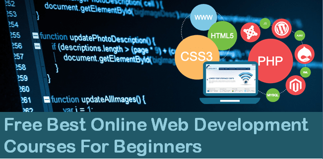 Top Free Best Online Web Development Courses For Beginners
