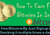 How To Earn Free Bitcoins In India
