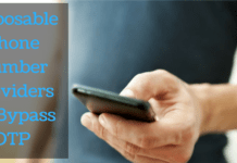 Disposable Phone Number Providers