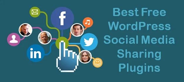 Best Free WordPress Social Media Sharing Plugins for Your Blog